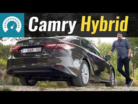 Toyota Camry Hybrid Седан класса D - тест-драйв 1