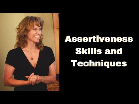 Assertiveness Skills and Techniques - YouTube