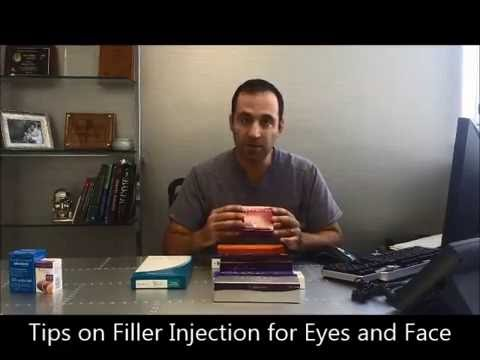 Filler Injections for Eyelids and Face