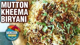 Keema Biryani Recipe - Quick & Simple Mutton Kheema