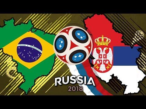 POSTOUPÍM ZE SKUPINY? BRAZÍLIE - SRBSKO [FIFA WORLD CUP 2018]