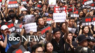 People Of Hong Kong Protesting In Record Breaking Numbers
