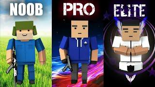 NOOB vs PRO vs ELITE | Block Strike (Quem Ganhou?..) #2