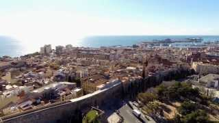 preview picture of video 'Tarragona desde el aire | Tarragona from above'