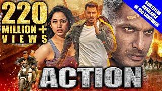 Action (2020) New Released Hindi Dubbed Full Movie   Vishal, Tamannaah, Aishwarya Lekshmi, Yogi Babu