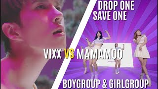 DROP ONE SAVE ONE (GIRLGROUP VS BOYGROUP) PARTIE 2