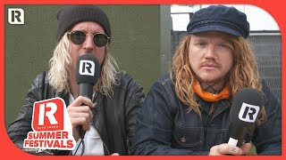 Underoath's Spencer & Aaron Talk REZZ Collab 'Falling' & 'Erase Me' At Download Festival