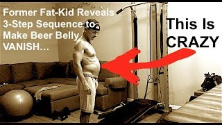 How to Lose Beer Belly, Beer Gut, Pot Belly Fast & Flatten Your Belly