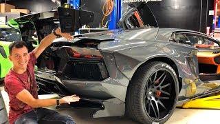 ЖЕНА на LAMBORGHINI?! 210 000 000 РУБ за Ferrari F50 + F40! GMP Cars и Джеф. AVENTADOR LIBERTY WALK.