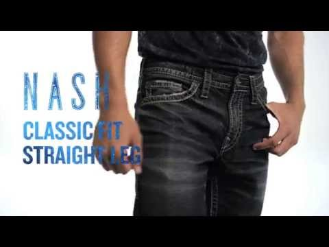 Silver Jeans Co. // Nash - Classic Fit, Straight Leg