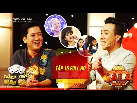 Hình ảnh Youtube -  Thách thức danh hài 3| tập 15 full hd (gala 1): Trấn Thành cười không ngớt trước cụ bà 73 tuổi