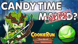 Cookie Run Ovenbreak CROB Wind Archer Candy NOT Max