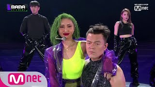 [2019 MAMA] J.Y. Park & HWASA_Don't Leave Me