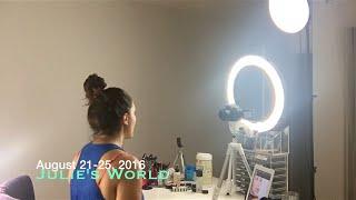 JULIES WORLD: Setting Up Makeup Station