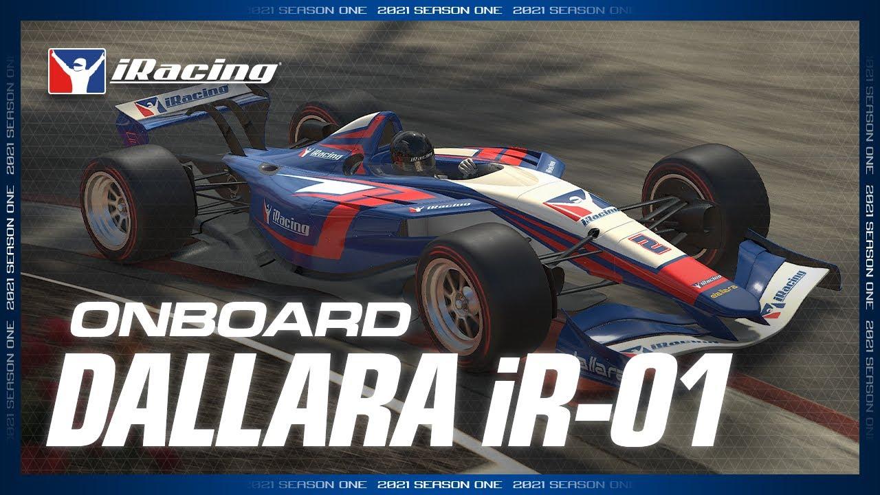 iRacing: Available this week Dallara iR-01 On Board