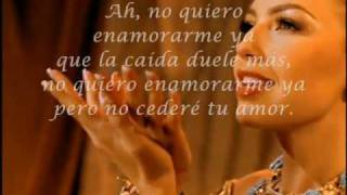 Thalia - Reencarnación Karaoke with Lyrics