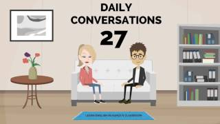 Actions - Daily Life & Work - 27 - English Lessons