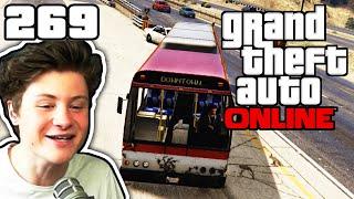 EIN BUS RENNEN MIT TOTEN! :D | GTA ONLINE #269 | Let's Play GTA Online mit Dner