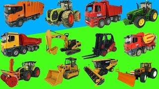 Best of Bruder toys 2018! Trucks, tractors, excavators!