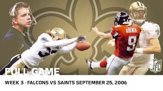 Saints Return After Hurricane Katrina (Wk 3, 2006)   Falcons vs. Saints   NFL Full Game