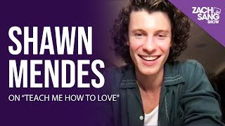 """Shawn Mendes on """"Teach Me How To Love"""""""
