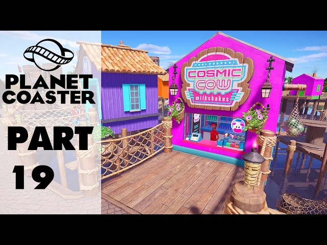 Planet Coaster Part 19 - Tropical Fishing Village