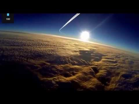 See how close the sun is!  No 93.000.000 miles!! (GoPro)