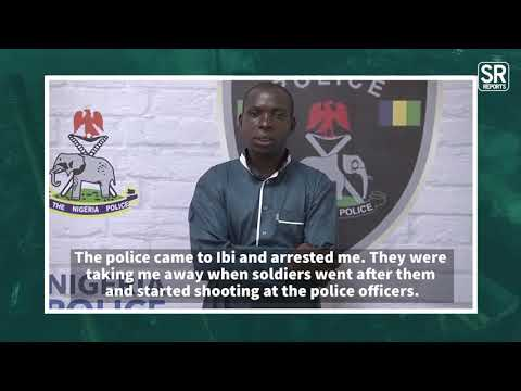 I was Freed By Soldiers, Arrested Kidnap Kingpin, Wadume Says