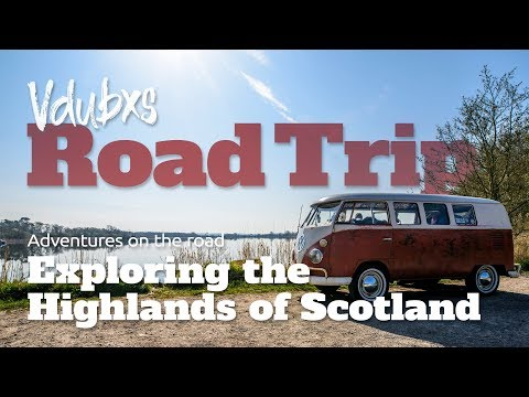 Exploring the Highlands and Islands of Scotland in our split-screen VW camper