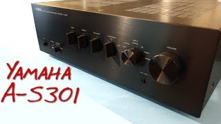 Z Review - Yamaha A-S301 [The Return of Real Amp Problems]
