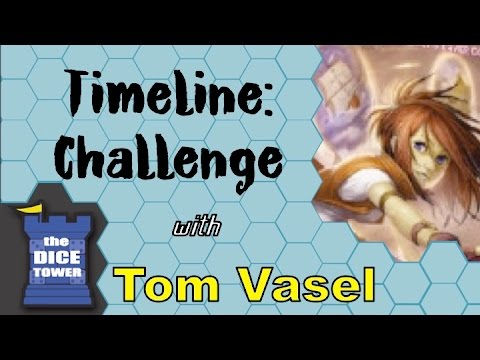 Dice Tower Reviews: Timeline Challenge