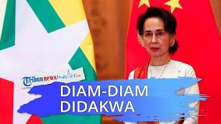 Militer Diam-diam Mendakwa Presiden Defakto Myanmar Suu Kyi, Dituding Langgar UU Rahasia Negara
