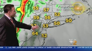 Cooldown On Tap For Sunday Before Mild Temps Return