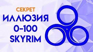Skyrim   Секрет как быстро прокачать Иллюзию в Скайриме!