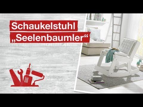 toom Kreativwerkstatt: DIY-Schaukelstuhl aus Holz selber bauen | toom Baumarkt