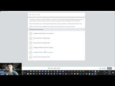 CCNA Practice Exam Tutorial 200-125 - YouTube