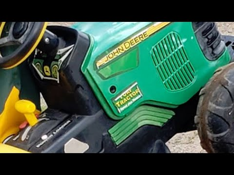 Missing Toddler Drives To County Fair On Toy John Deere