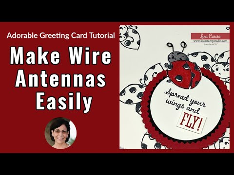 🔴The Most Adorable Greeting Card + How to Make Wire Antennas