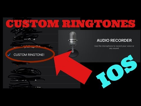 HOW TO MAKE CUSTOM RINGTONES ON ANY IOS DEVICE!
