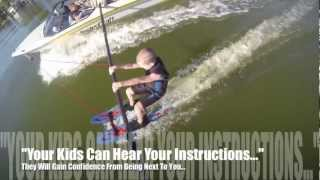 How To Water Ski with GoPro How To Water Ski Video For Beginners