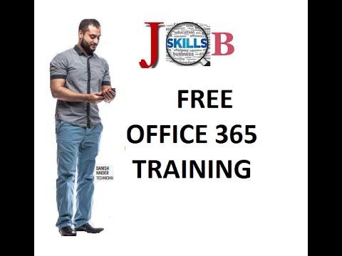 Free Office 365 Training - YouTube