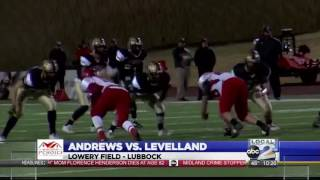 Levelland Ends Andrews Playoff Run