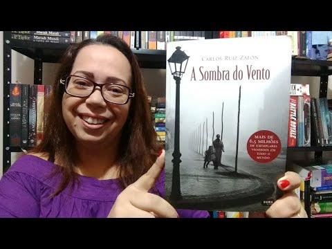 VEDA #09|  A Sombra do Vento -  Carlos Ruiz Zafon