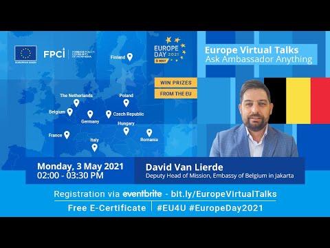 Ask Mr. David Van Lierde - Belgium #EU4U #EuropeDay2021