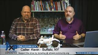 Theist Having Doubts | Kevin - Buffalo, NY | Atheist Experience 20.45