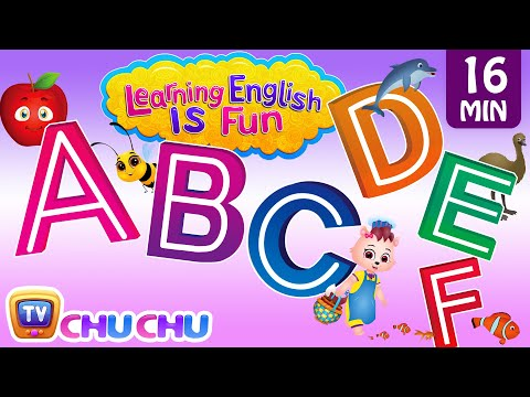 ABCDEF Alphabet Songs With Phonics Sounds & Words For Children | Learning English With ChuChu TV Mp3