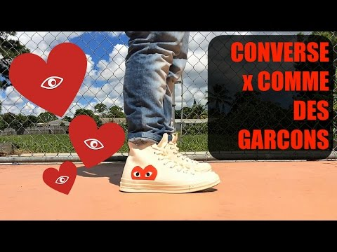 cdg play converse review