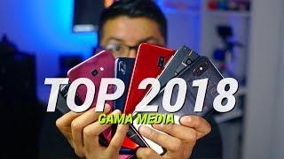 TOP Mejores teléfonos gama media del 2018