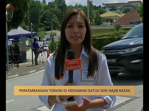 Perkembangan terkini di kediaman Datuk Seri Najib Razak (Jam 12tgh)