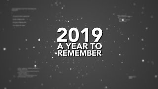 2019 A Year To Remember